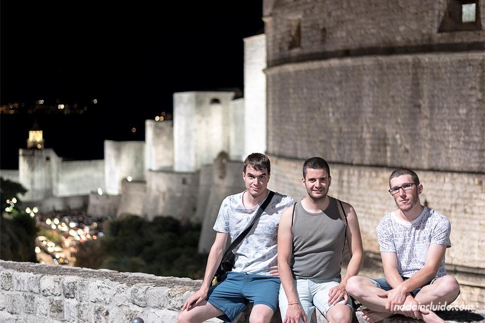 Murallas del Old Town de Dubrovnik (Croacia)