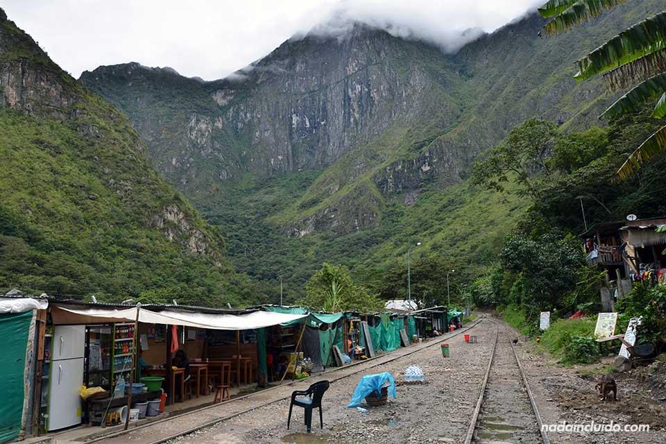 Estación Hidroeléctrica,camino al Machu Picchu