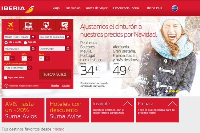 Guía para comprar billetes de avión baratos.  5) Comprobar los precios en la web de la aerolínea