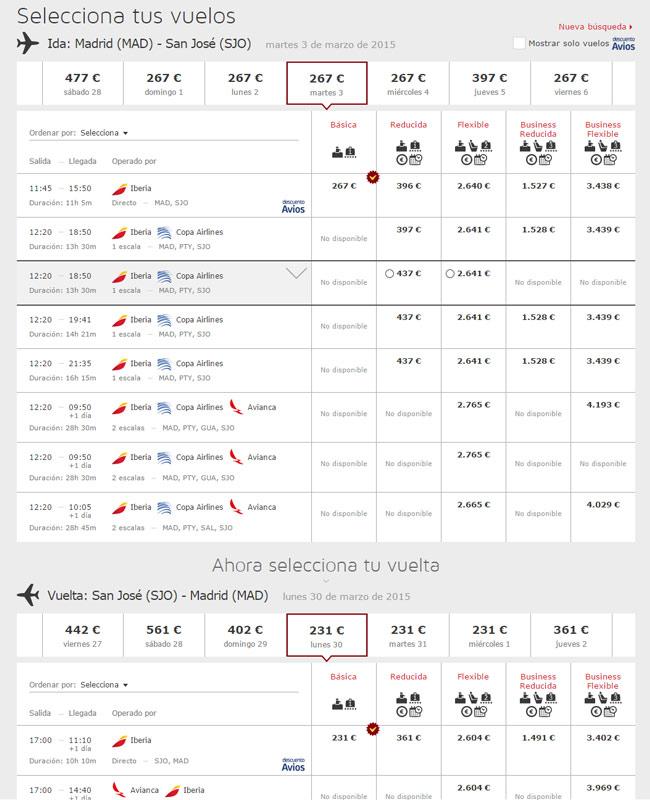 Guía para comprar billetes de avión baratos.  6) Mirar cual es el día más barato en la web de la aerolínea