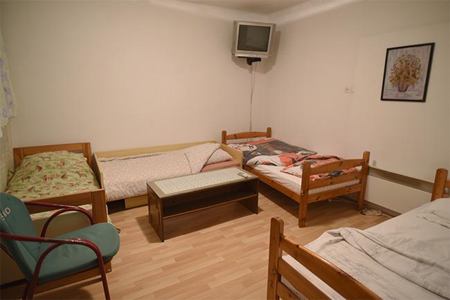Habitación de un Sobe de Jablanica (Bosnia)