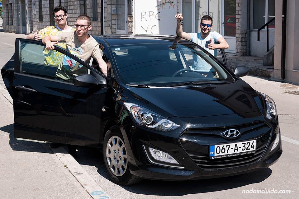 Alquilando un coche en Mostar (Bosnia)