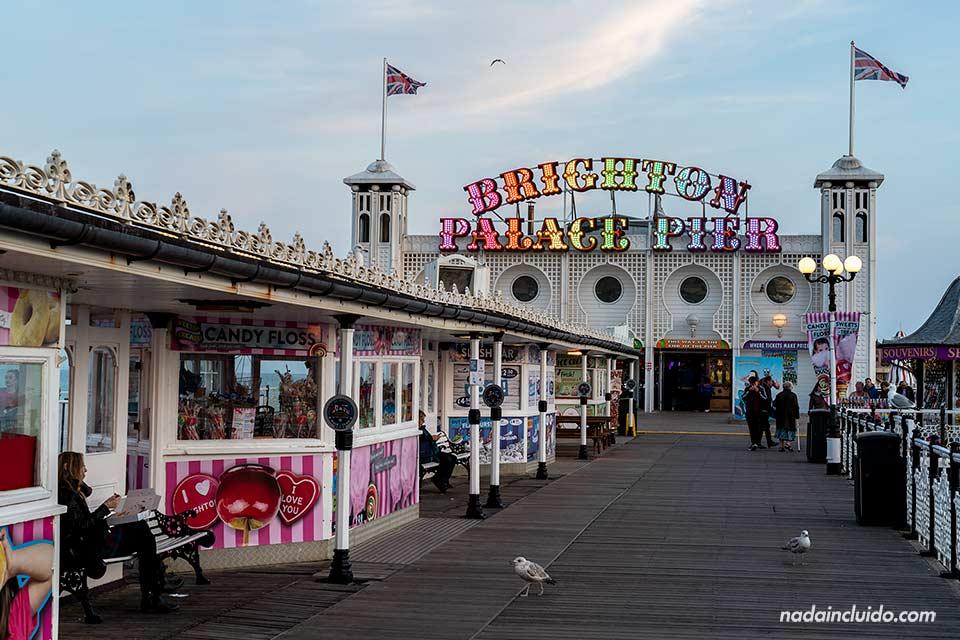 Palace Pier de Brighton (Inglaterra)