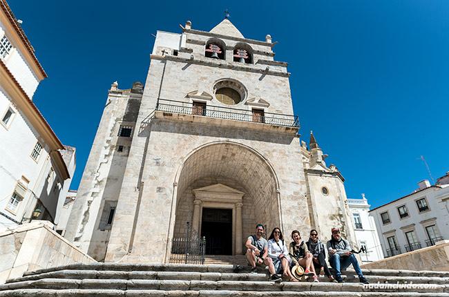 Iglesia de Nuestra Señora de la Asunción en Elvas (Alentejo, Portugal)