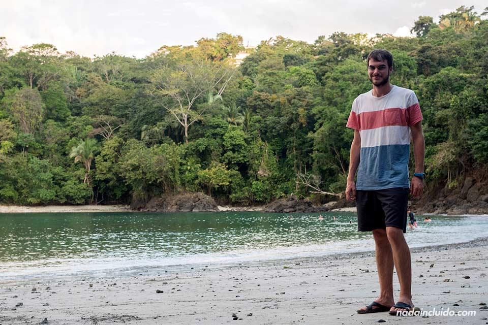 En la playa Biesanz, Manuel Antonio (Costa Rica)