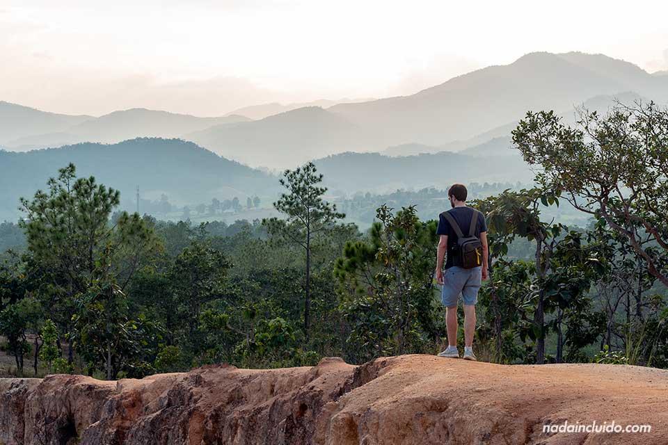 Paseando por el cañón de Pai, Kong La (Tailandia)