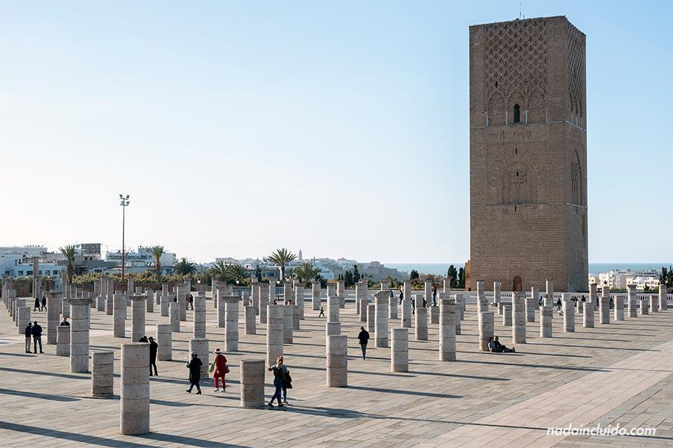 Torre de Hassan en Rabat (Marruecos)
