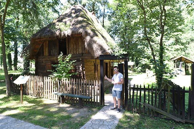 En el Museo Satului (museo etnográfico) de Timisoara (Rumanía)