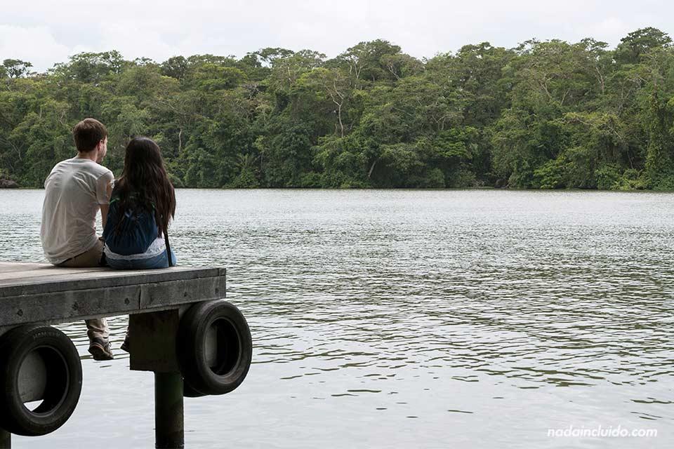 Puerto en el Parque Nacional de Tortuguero (Costa Rica)