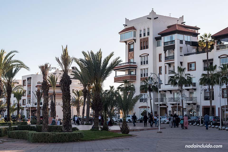 Edificios en la Marina de Agadir (Marruecos)