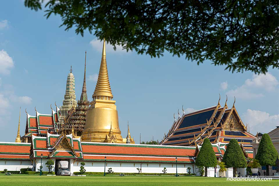 Recinto del gran palacio de Bangkok (Tailandia)