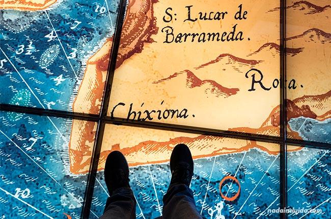 Exposición en el castillo de Chipiona (Cádiz)