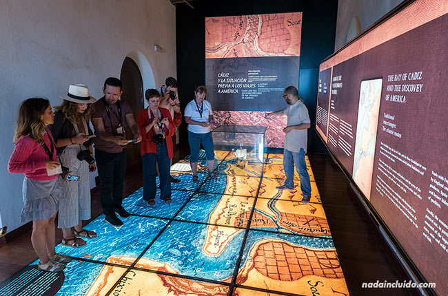 En el museo del castillo de Chipiona (Cádiz)