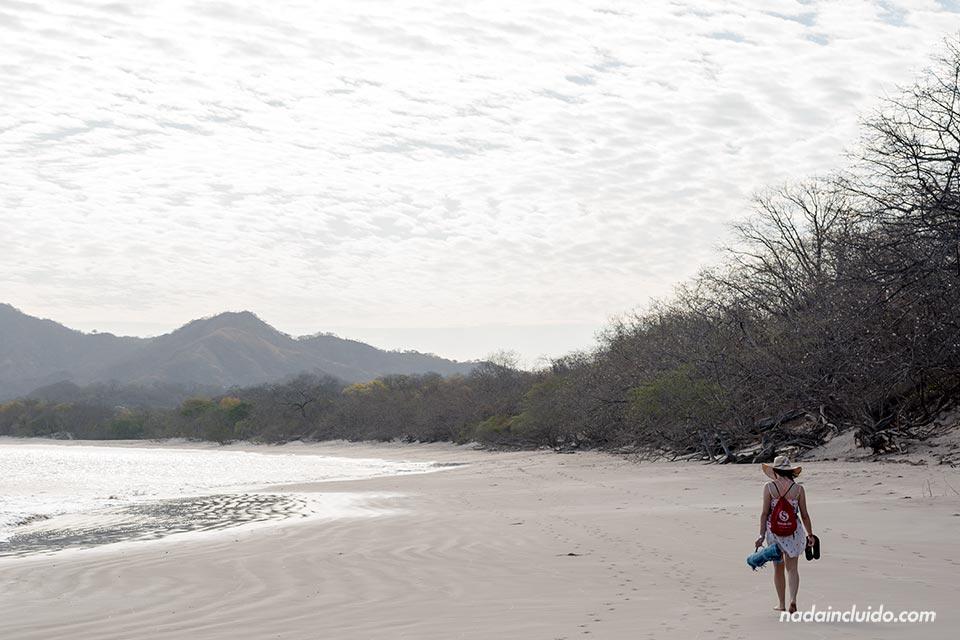 Paseando en Playa Conchal (Costa Rica)
