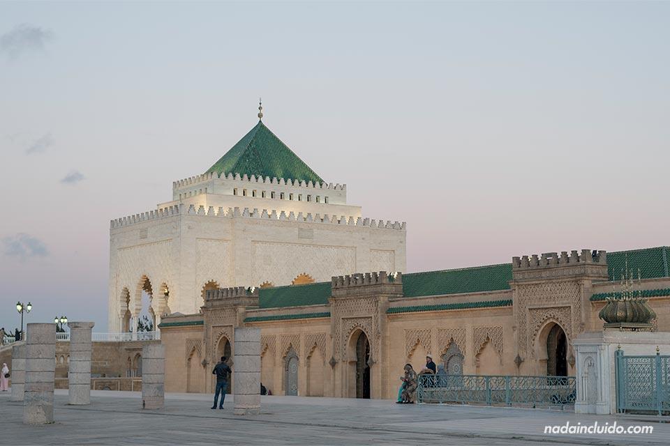 Mausoleo de Mohammed V en Rabat (Marruecos)