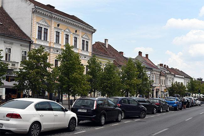 Calea Dorobantilor, Cluj-Napoca (Rumanía)