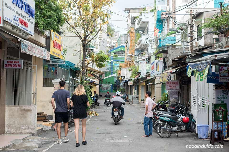 Paseando por las calles de Ho Chi Minh (Vietnam)