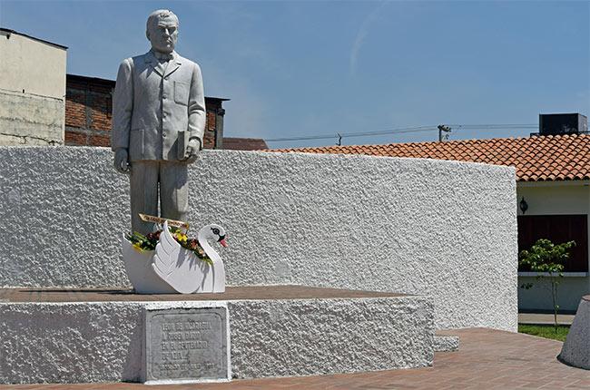 Parque de Rubén Darió en León (Nicaragua)