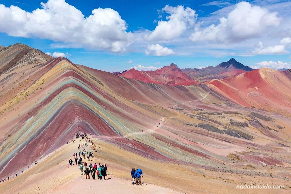 La montaña de los 7 colores de Perú, Vinicunca