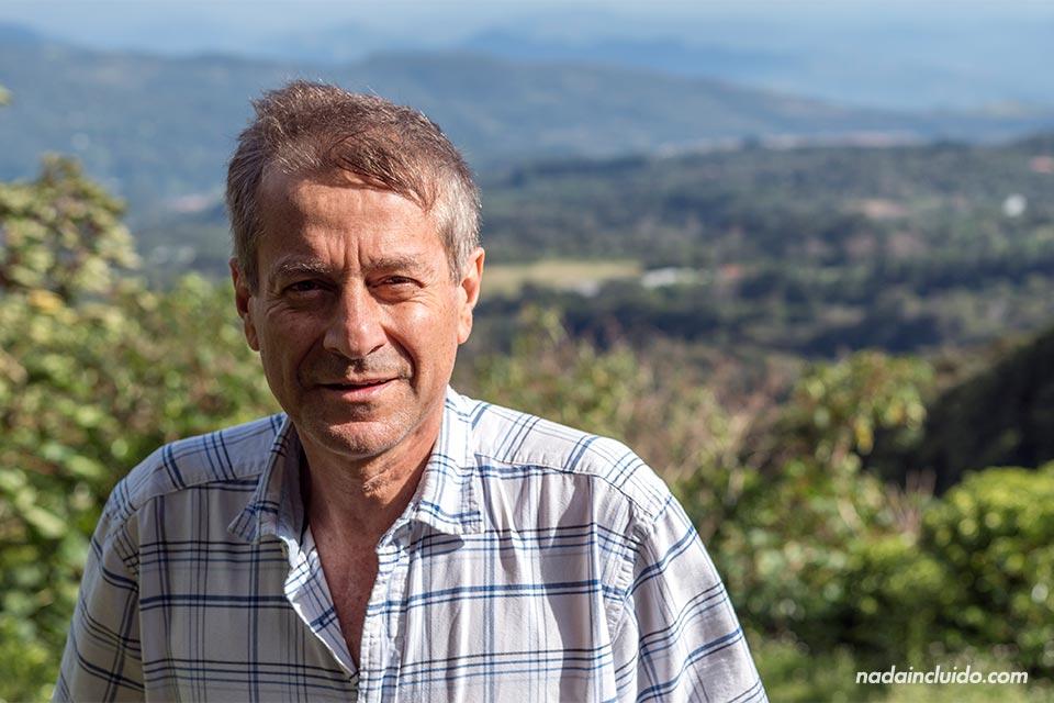 Wilford Lamstus es el propietario de Elida Estate Coffee (Boquete, Panamá)