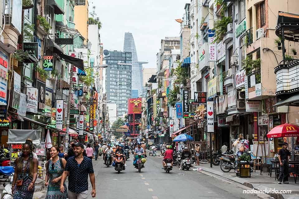 Paseando por el backpacker quarter de Ho Chi Minh (Vietnam)