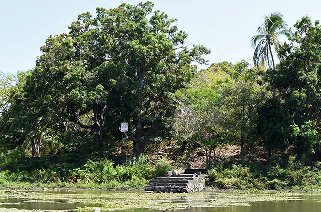 Acceso a una de la Isletas de Granada (Nicaragua)