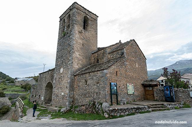 Iglesia de Tella (Sobrarbe, Aragón)