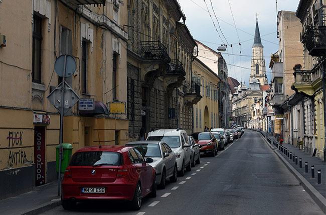 Bulevard de Cluj-Napoca (Rumanía)