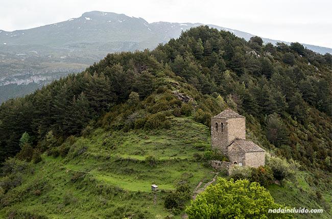 Ermita de la Virgen de Fajanillas en Tella (Sobrarbe, Aragón)