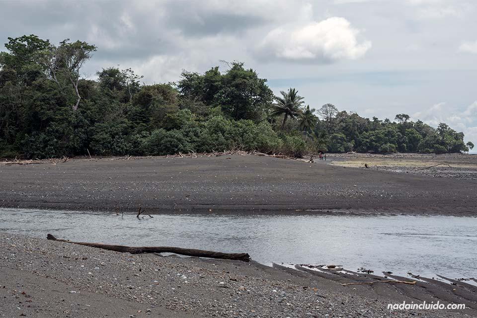 Playa Sirena, parque nacional de Corcovado (Costa Rica)