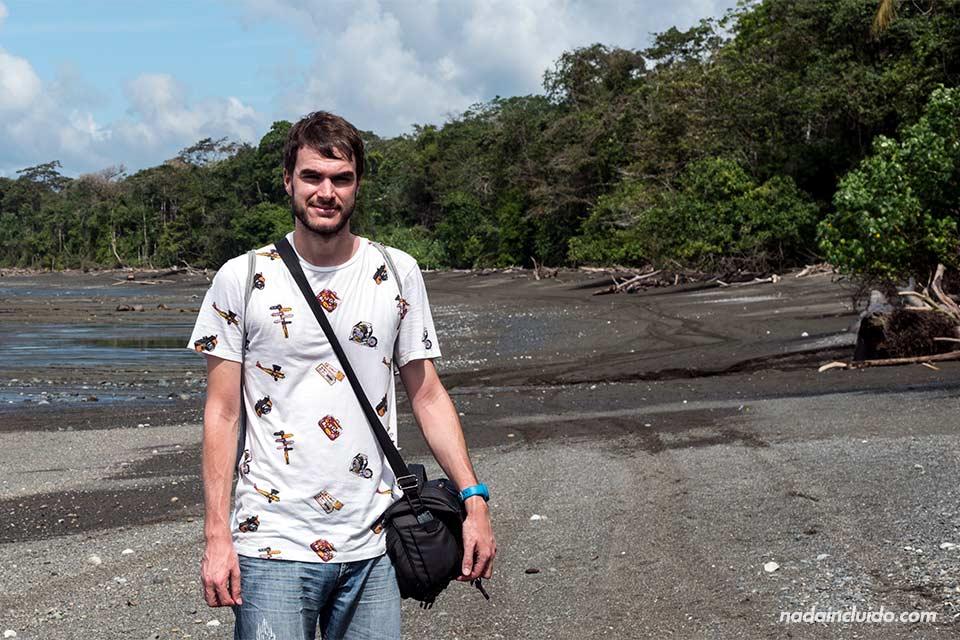 En playa Sirena en el parque nacional de Corcovado (Costa Rica)