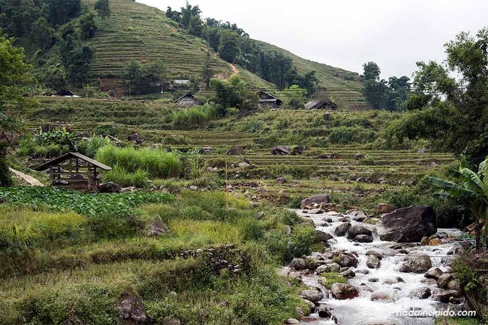 Río junto a la aldea de Lao Chai, en la provincia de Lao Cai (Vietnam)