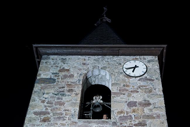 Torre de la Iglesia de San Juan de Plan (Sobrarbe, Aragón)