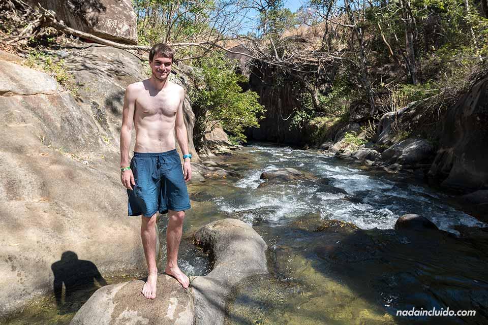 En El Cañón del Río Colorado en la región de Guanacaste (Costa Rica)