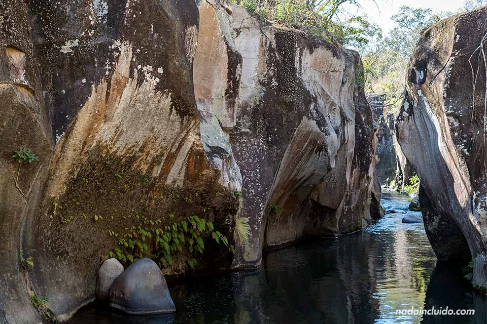 El Cañón del Río Colorado en la región de Guanacaste (Costa Rica)