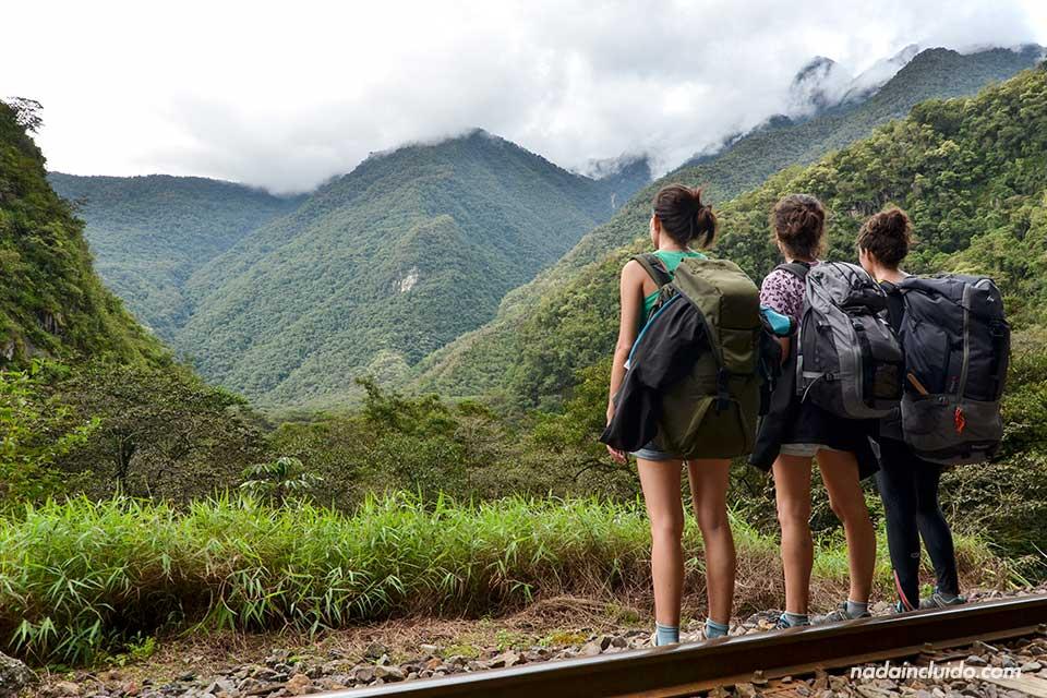 Equipaje necesario para ir al Machu Picchu (Perú)
