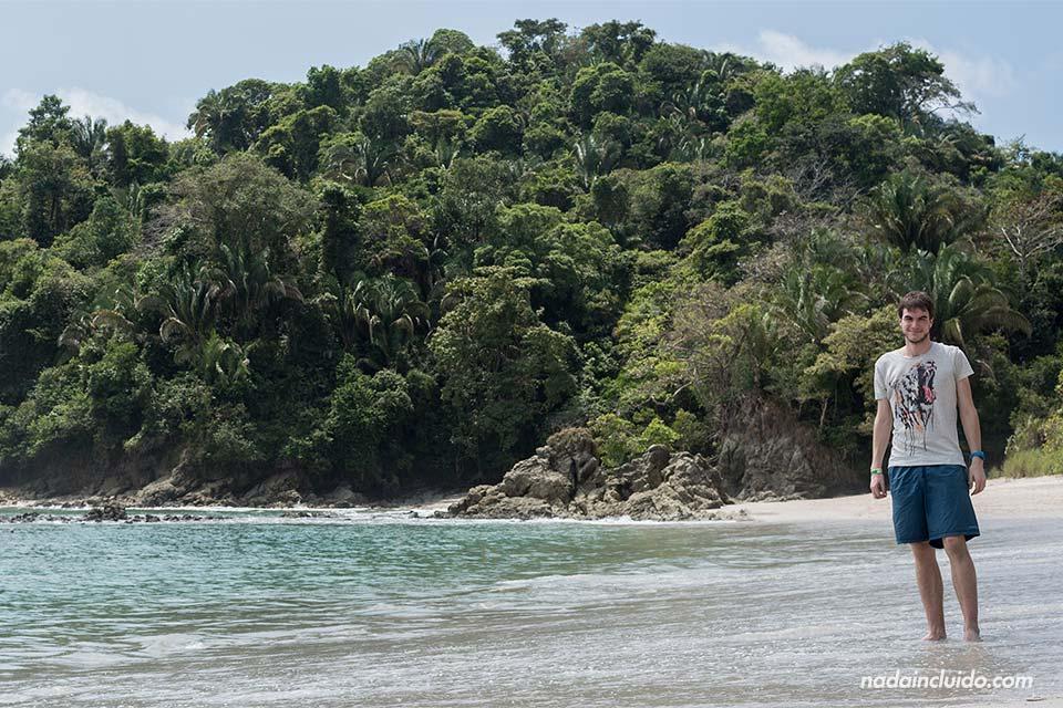 Playa de Manuel Antonio en el Parque Nacional del mismo nombre, en Costa RIca