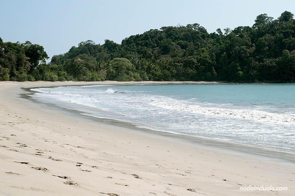 Playa Espadillas Sur en el Parque Nacional de Manuel Antonio (Costa Rica)