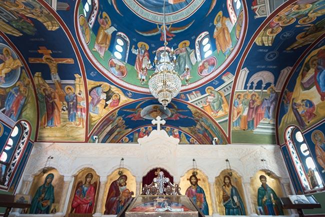 Iglesia de St Petka, interior