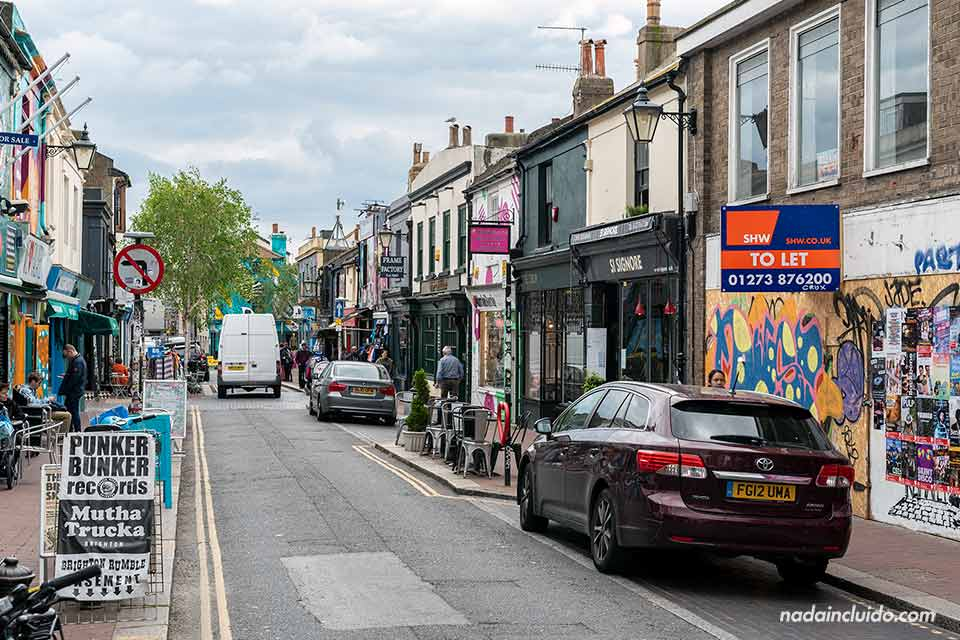 The Lanes, uno de los barrios con más vida de Brighton (Inglaterra)
