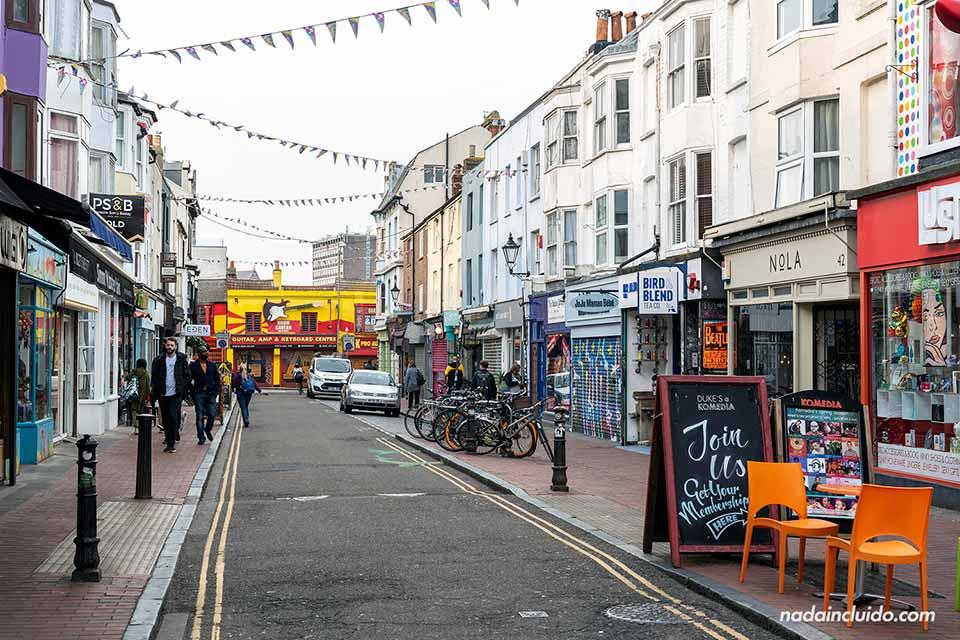 Lanes North, calle de uno de los barrios más populares de Brighton (Inglaterra)