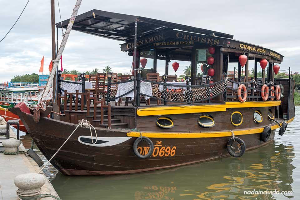 Barco Cinnamon Cruise en Hoi An (Vietnam)