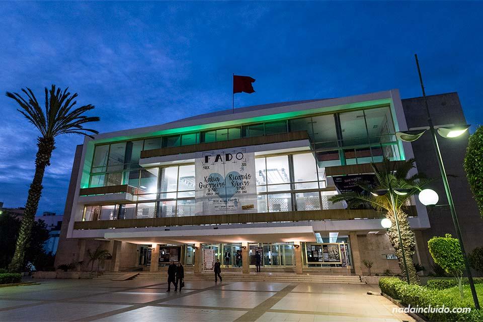 Teatro de Rabat, la capital de Marruecos