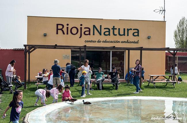Entrada a Rioja Natura, Santo Domingo de la Calzada (Rioja, España)