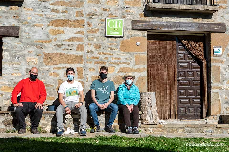 En casa Lisa, alojamiento del pueblo de Buerba (Sobrarbe, Aragón)