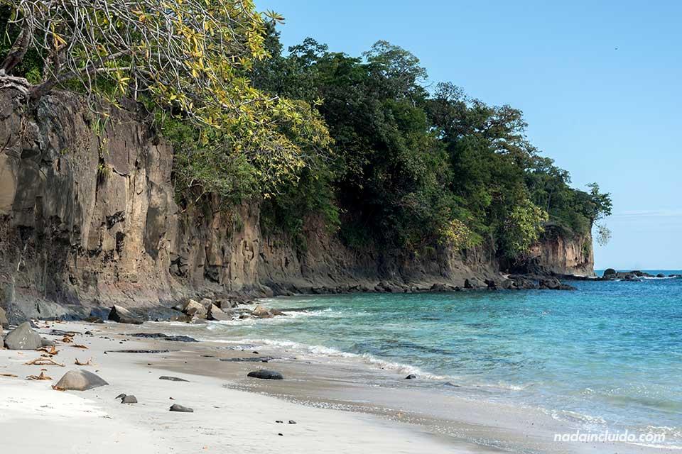Playa de isla Gámez, parque nacional marino golfo de Chiriquí (Panamá)