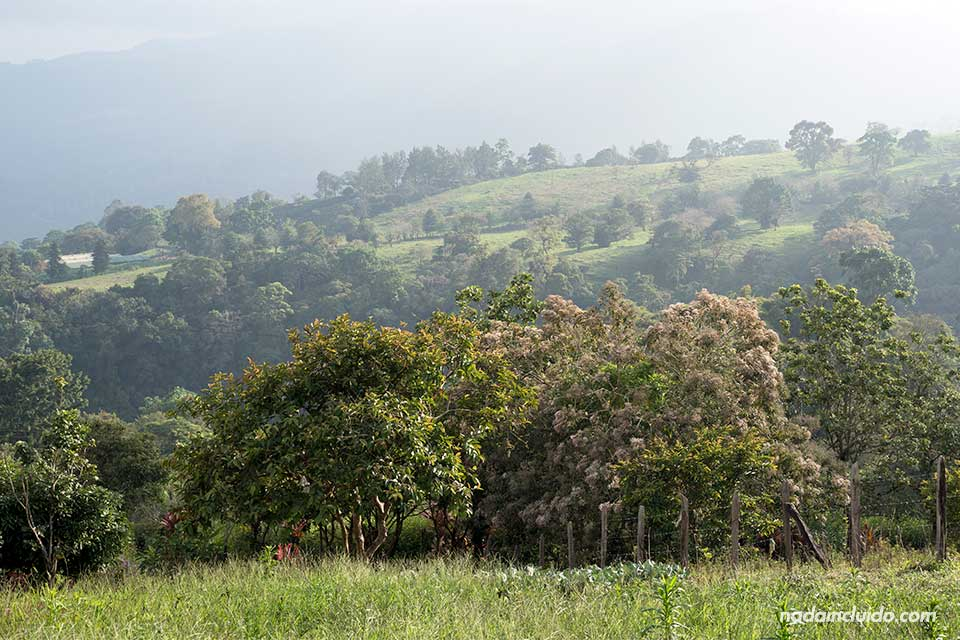 Vistas de Turrialba (Costa Rica)