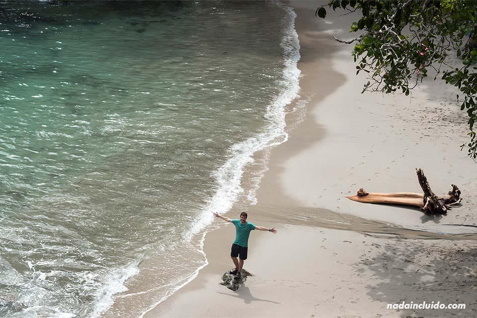 En una playa de Manuel Antonio (Costa Rica)