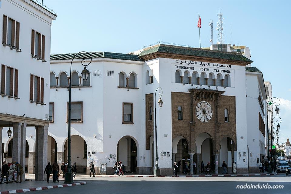 Oficina de correos de Rabat (Marruecos)