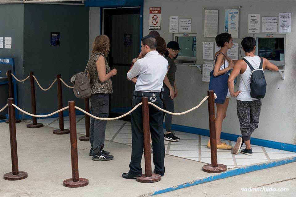 Oficina de tickets del parque nacional Manuel Antonio (Costa Rica)